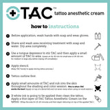TAC - Tattoo Anesthetic Cream Single Use