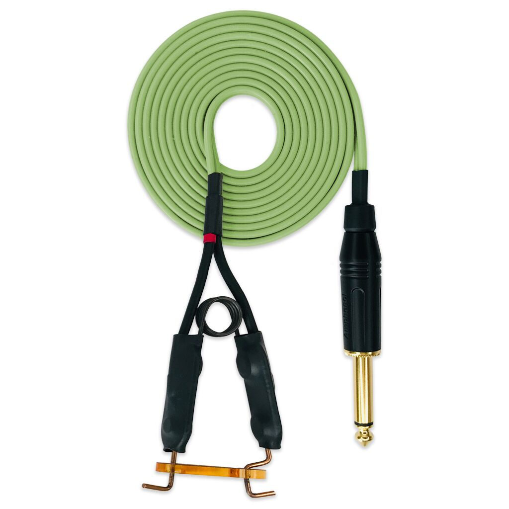 Torsion Spring Clip Cord Jade Green