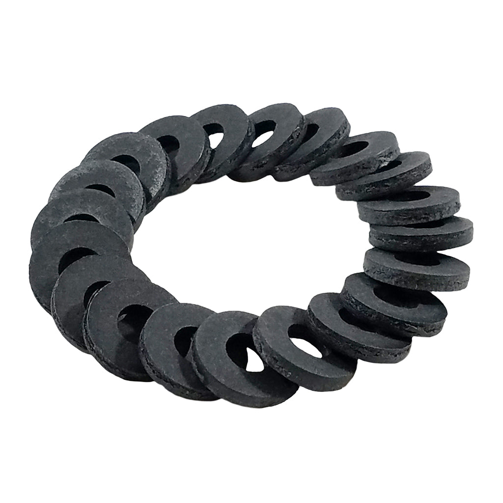 Thick Coil Washer Black 5/16
