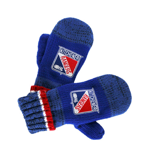 Adult Bardown Mittens - Rangers Authentics