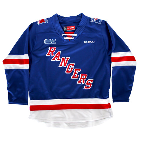 CCM Quicklite Yth Blue Jersey - Rangers Authentics
