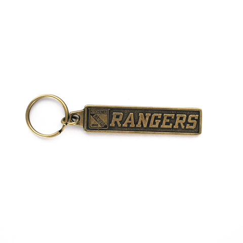 Metal Keychain - Rangers Authentics