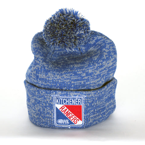Adult Bardown Pom Pom Toque - Rangers Authentics