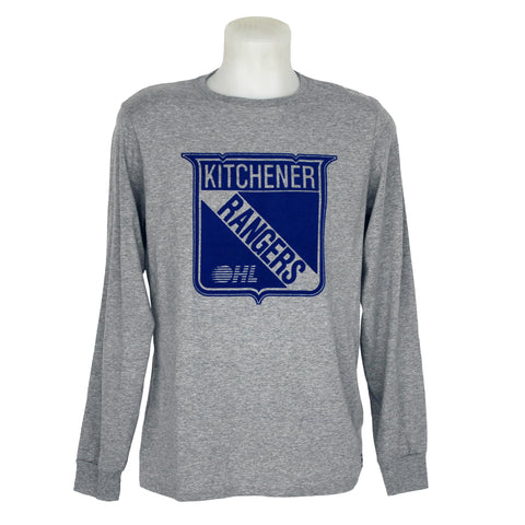 Men's Russell Athletic Long Sleeve Tee - Rangers Authentics