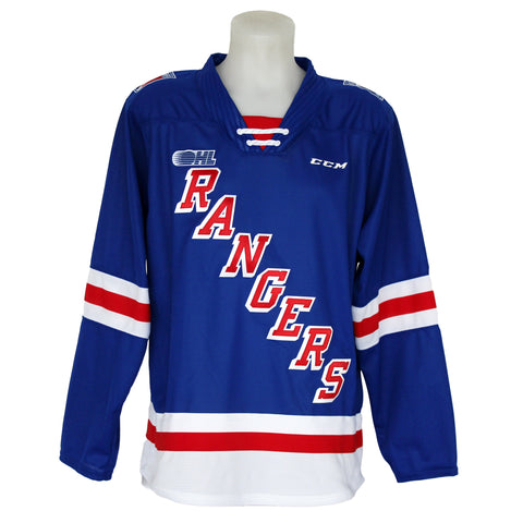 Adult Jersey Customization - Rangers Authentics