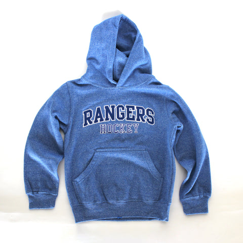 Youth Dubwear Marled Hood - Rangers Authentics