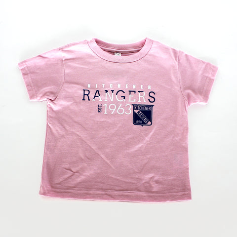 Girls Toddler Hotline Tee - Rangers Authentics