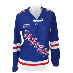 Women's Jersey Customization - Rangers Authentics