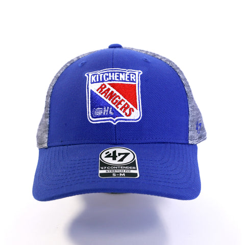 Adult '47 Verona Contender Stretch Fit Hat - Rangers Authentics