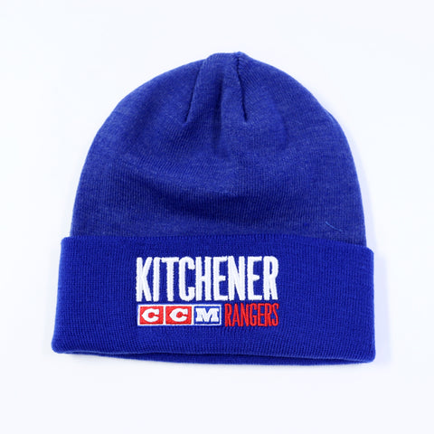 Adult CCM Vintage Cuffed Beanie - Rangers Authentics