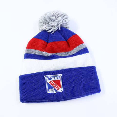 Adult CCM Cuffed Pom Knit - Rangers Authentics