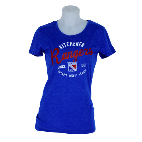 Women's Campus Crew Scoop Tee - Rangers Authentics