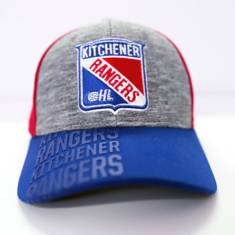 Adult CCM 2020 Draft Adjustable Hat - Rangers Authentics