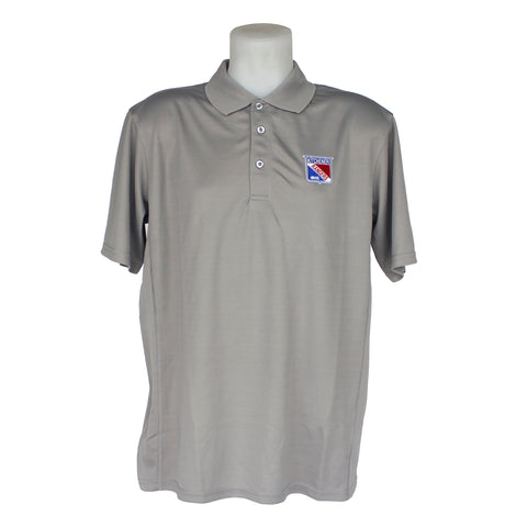 CQ Grey Golf Shirt - Rangers Authentics