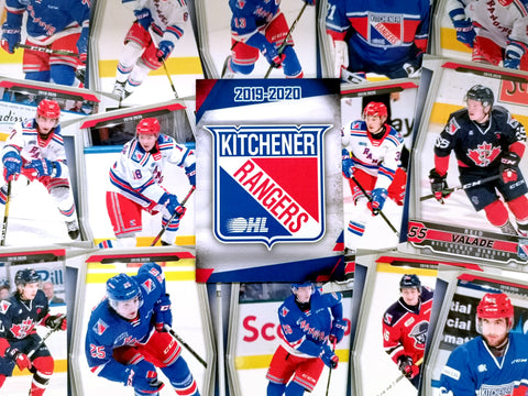2019-2020 Team Hockey Cards - Rangers Authentics