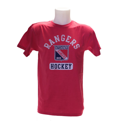 Men's Westhall Red Heather Tee - Rangers Authentics