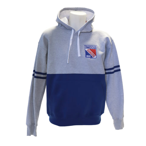 DW Two-Tone Hood Royal - Rangers Authentics