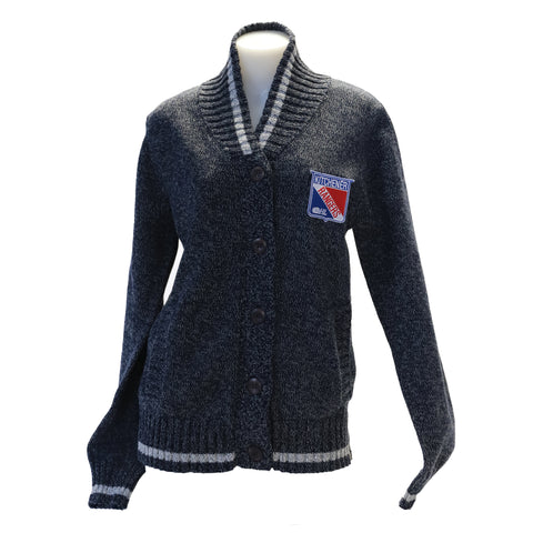 Women's Bruzer Button Up Cardigan - Rangers Authentics