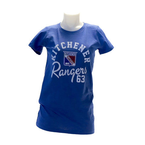 Women's Westhall Royal Heather Tee - Rangers Authentics