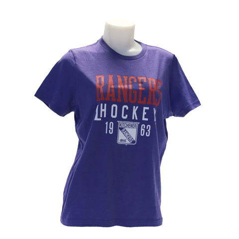Girls Campus Crew Tee - Rangers Authentics