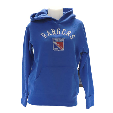 Youth Campus Crew College Hood - Rangers Authentics