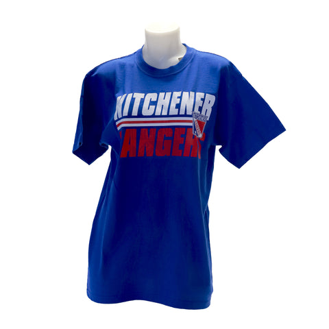Youth '47 Shadow Tee - Rangers Authentics