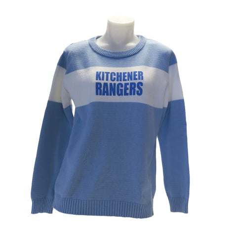 Youth Bruzer Bar Down Sweater - Rangers Authentics