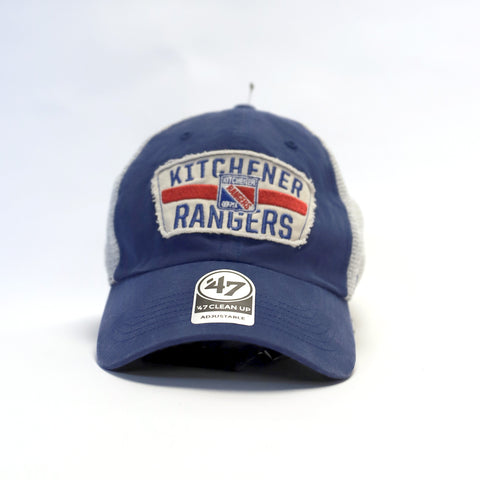 Adult '47 Crawford Clean Up Adjustable Hat - Rangers Authentics