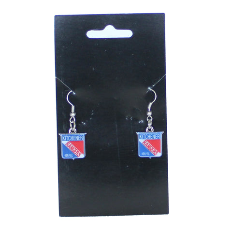 Kitchener Rangers Earrings - Rangers Authentics