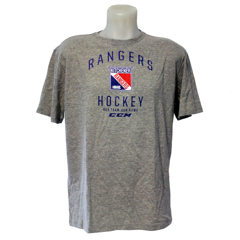 Men's CCM Our Team Our Game - Rangers Authentics