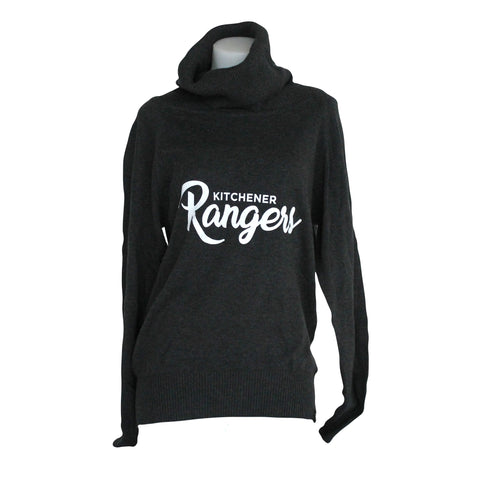 Women's Bruzer Cozy Cowl Sweater - Rangers Authentics
