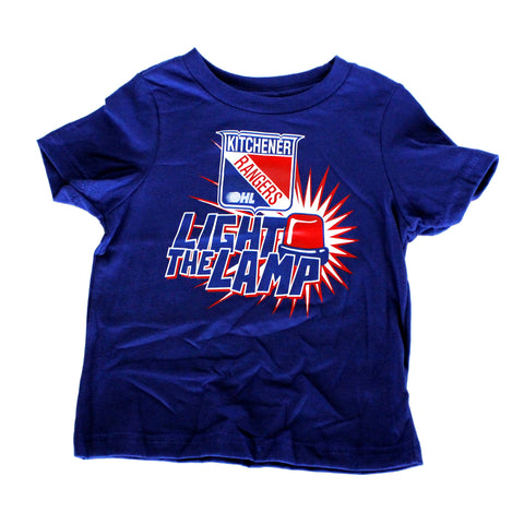 Toddler Light the Lamp Tee - Rangers Authentics