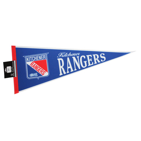 KR Primary Logo Pennant - Rangers Authentics