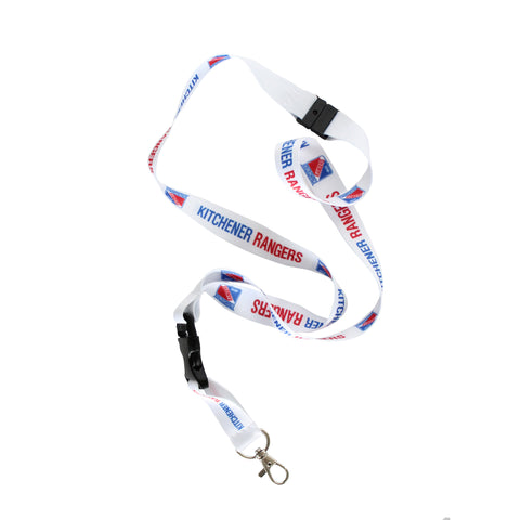 KR Primary Logo Lanyard - Rangers Authentics