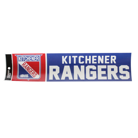 KR Bumper Sticker - Rangers Authentics