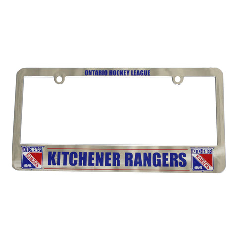 License Plate Frame - Rangers Authentics