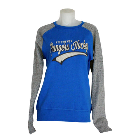 Women's Campus Crew Sweatshirt - Rangers Authentics