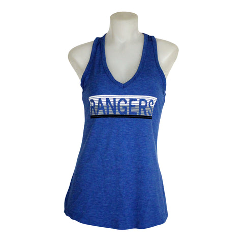 Women's Campus Crew V-neck Tank Top - Rangers Authentics