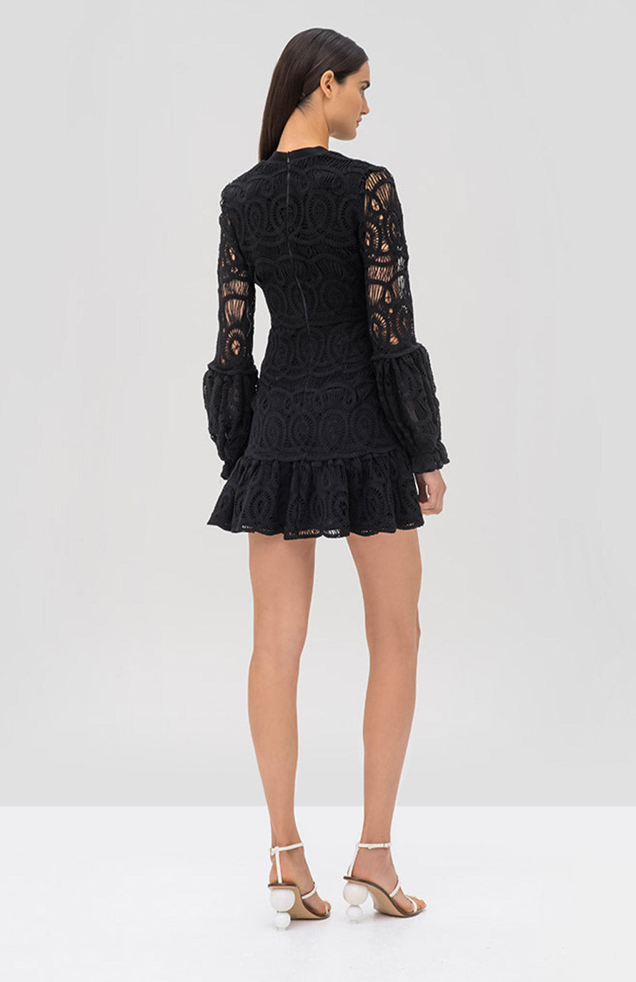 Alexis Liliyan Dress Black - Rear View