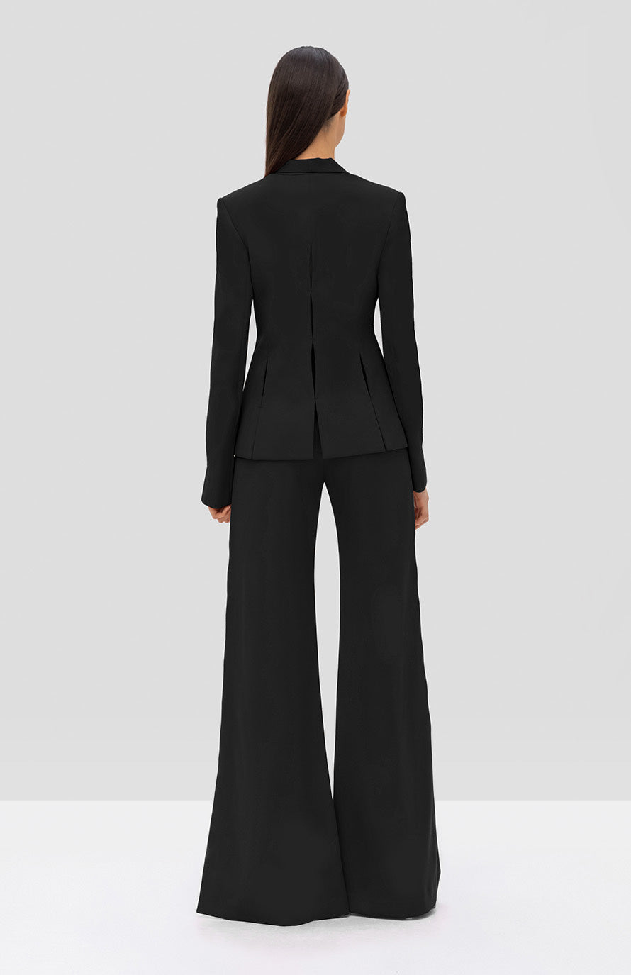 Alexis Vaska Blazer and Roque Pant Black - Rear View