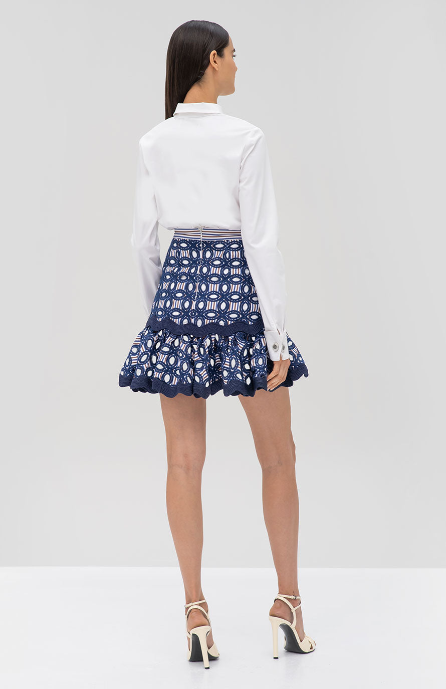 Alexis Sheila Skirt and Roxanne Top - Rear View