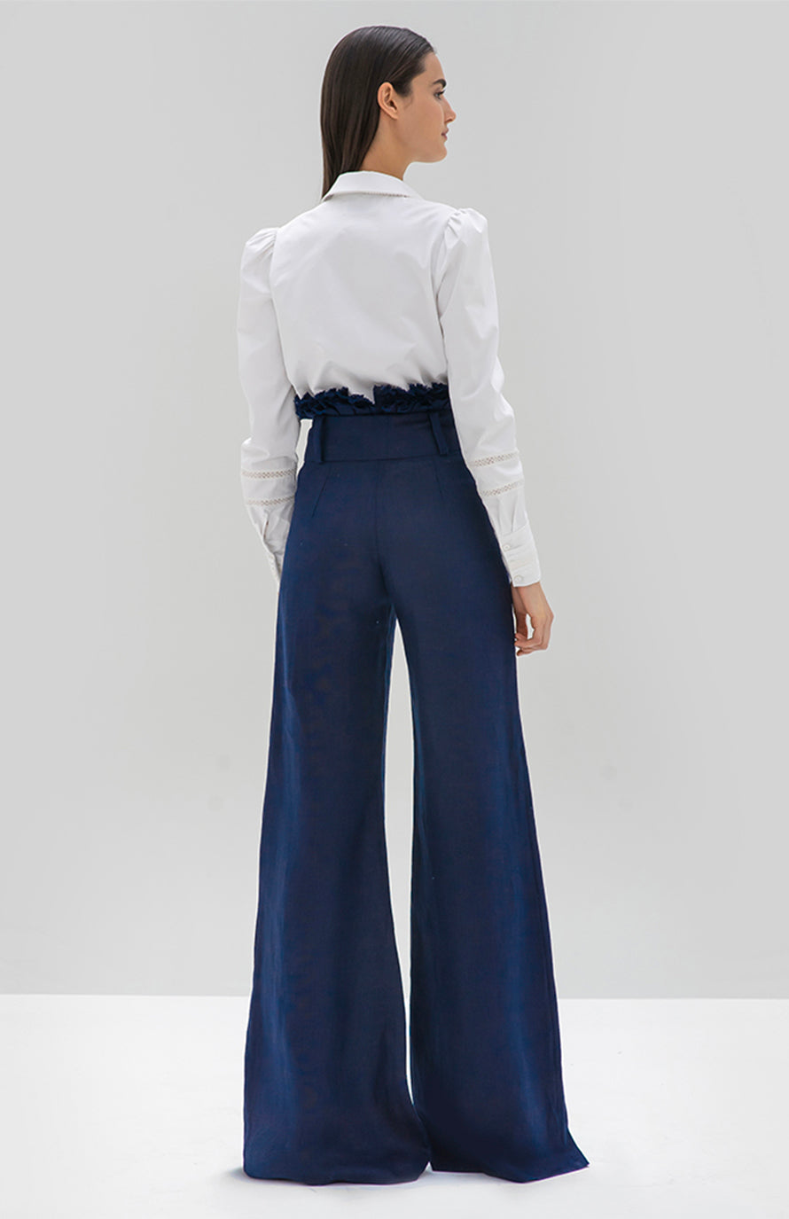 Alexis Sweeney Pant midnight blue - Rear View