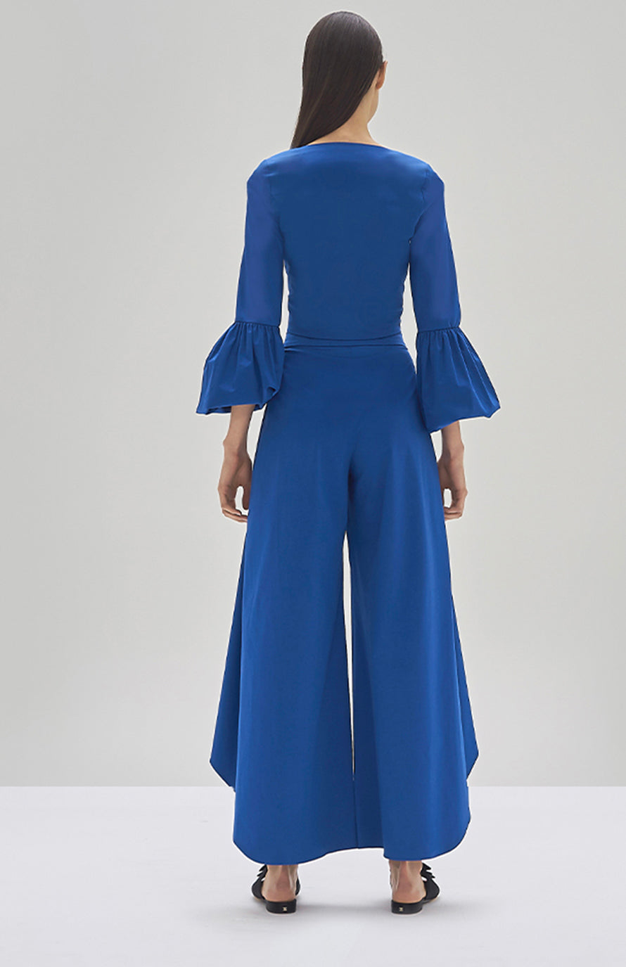 Alexis Ottera Top and Osborne Pant Cobalt Blue - Rear View