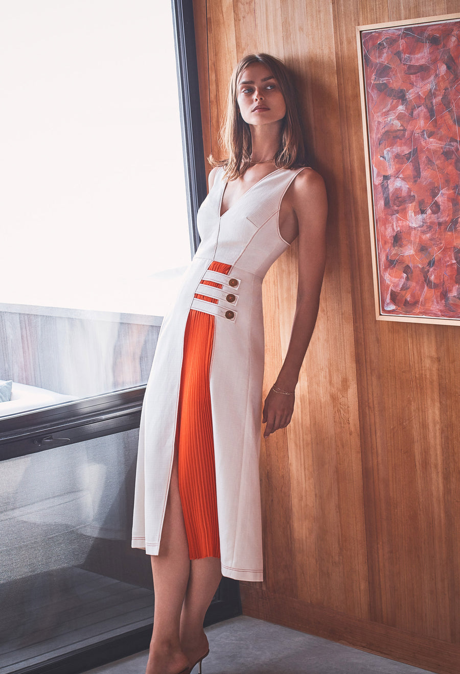 Alexis Ilan Dress in Ivory from Spring Summer 2020