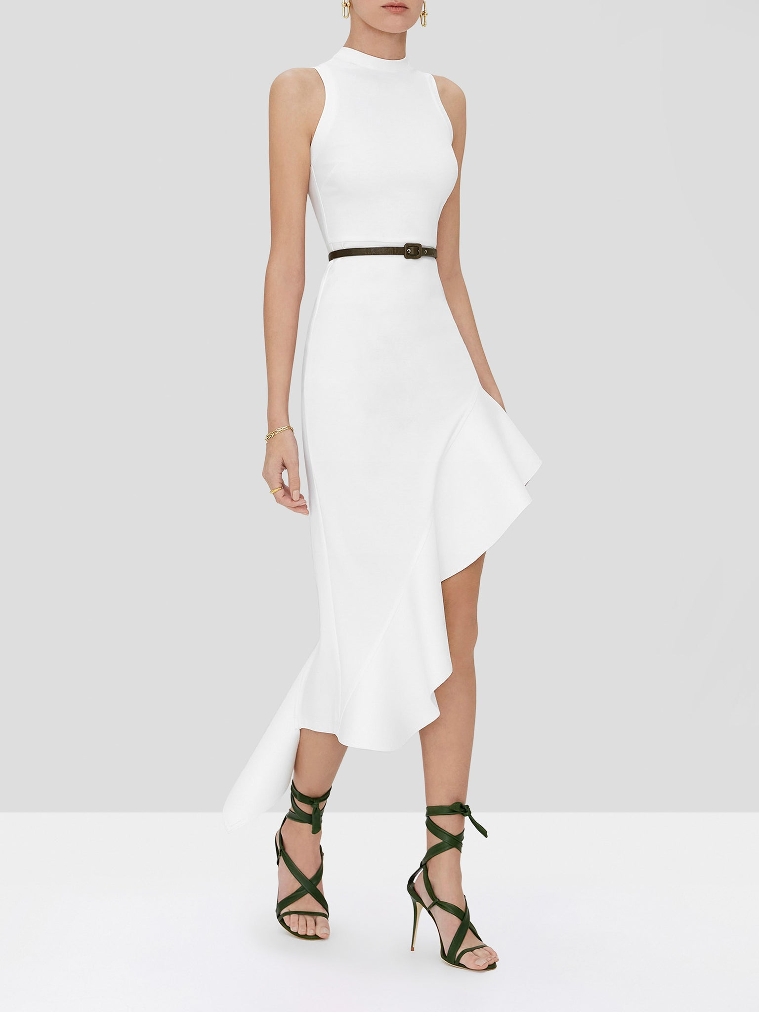 adva dress in white
