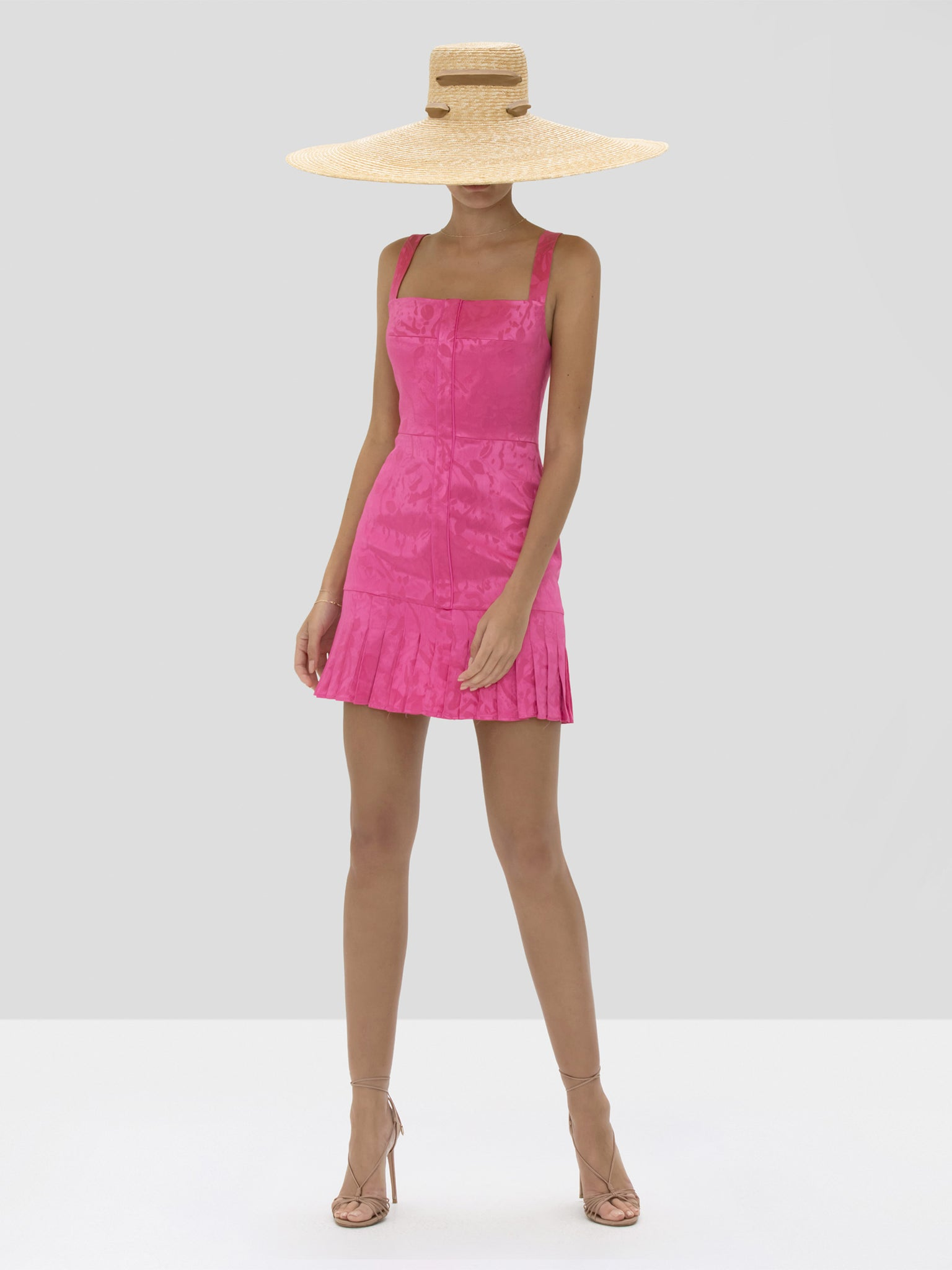 Alexis Alys Dress in Vivid Fuschia from Spring Summer 2020 Collection