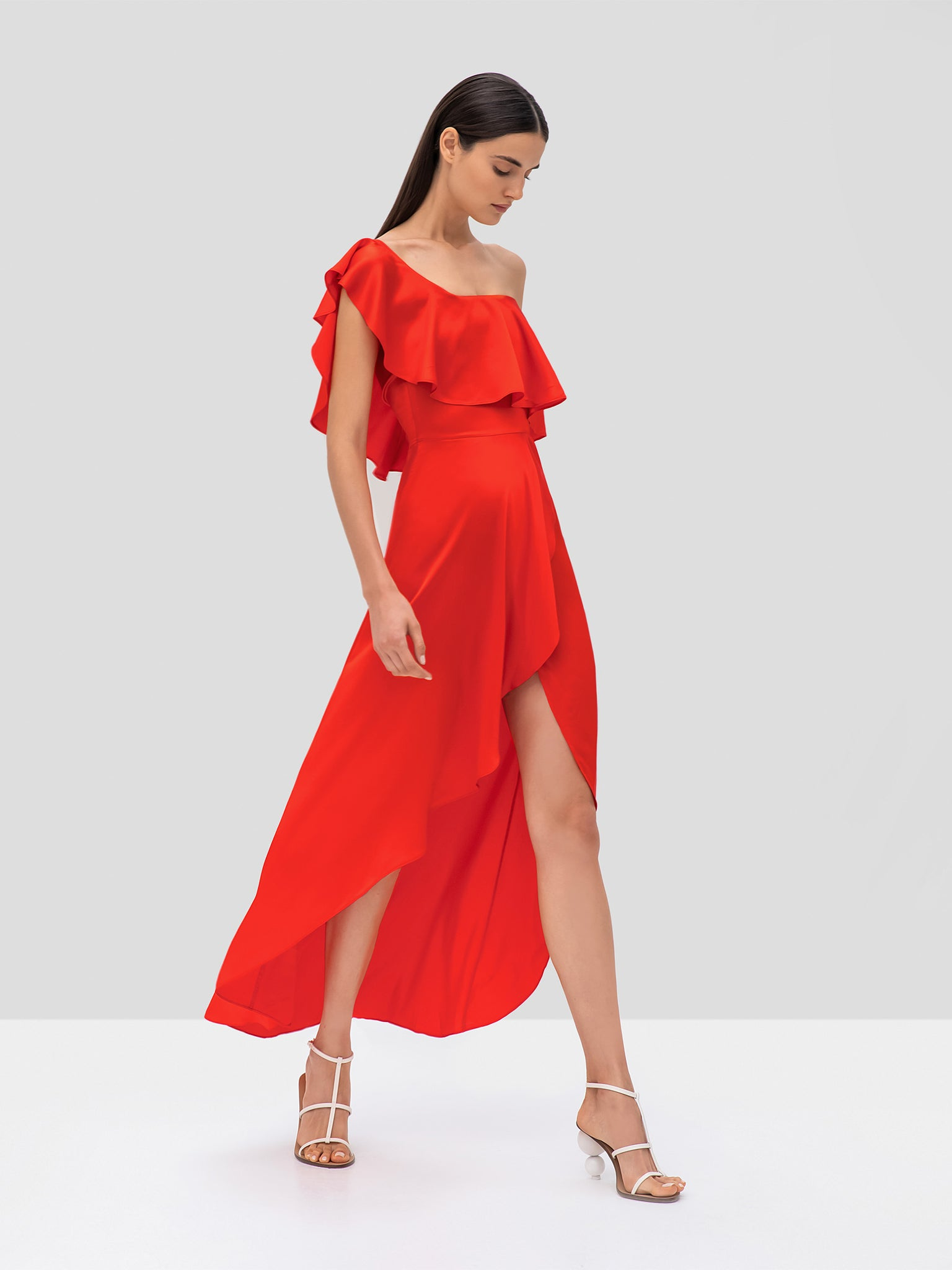 Alexis Austyn Dress in Red from the Pre Fall 2019 Ready To Wear Collection