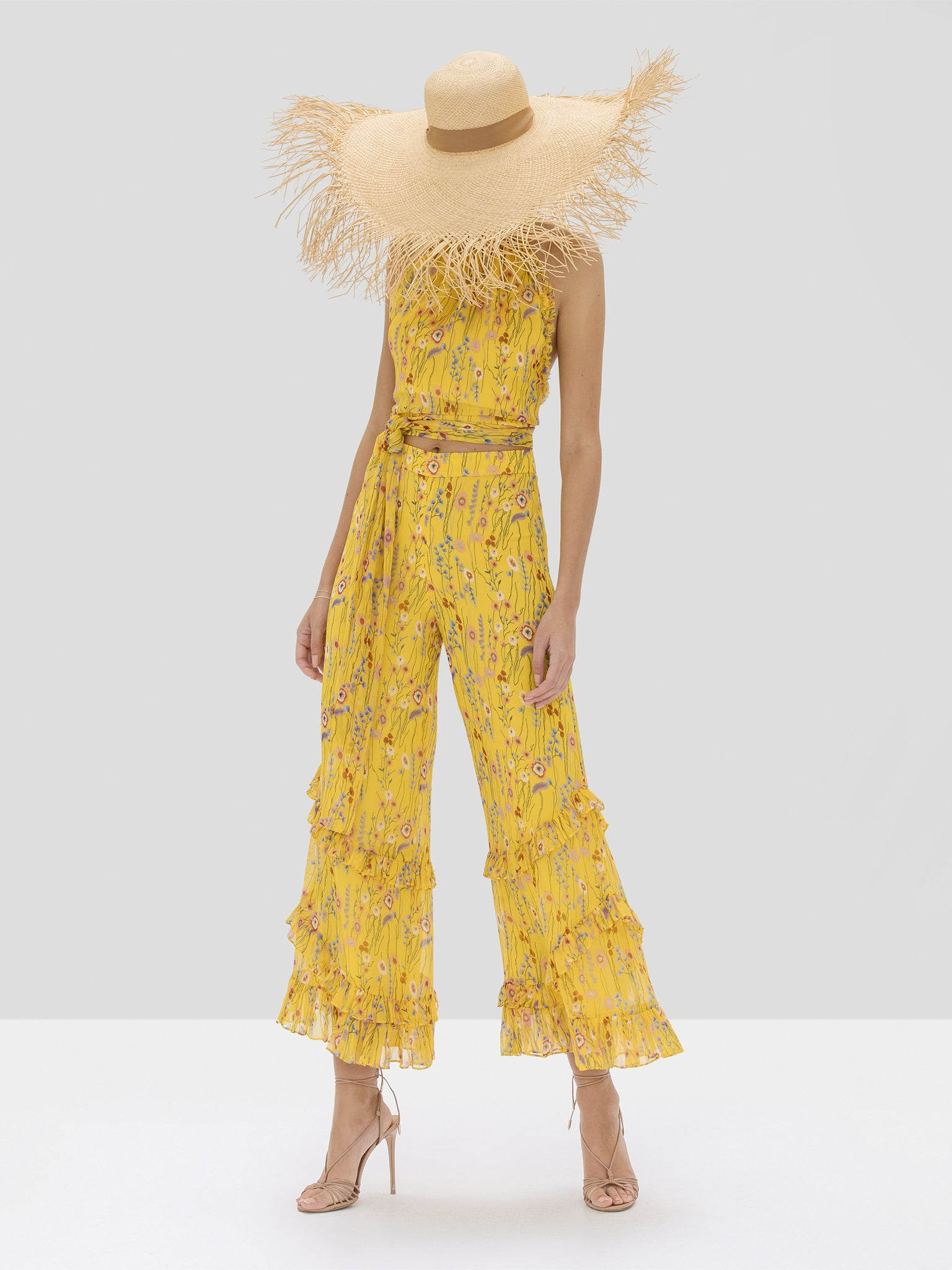 Alexis Balbina Top and Faizel Pant in Sunrise Bouquet from Spring Summer 2020