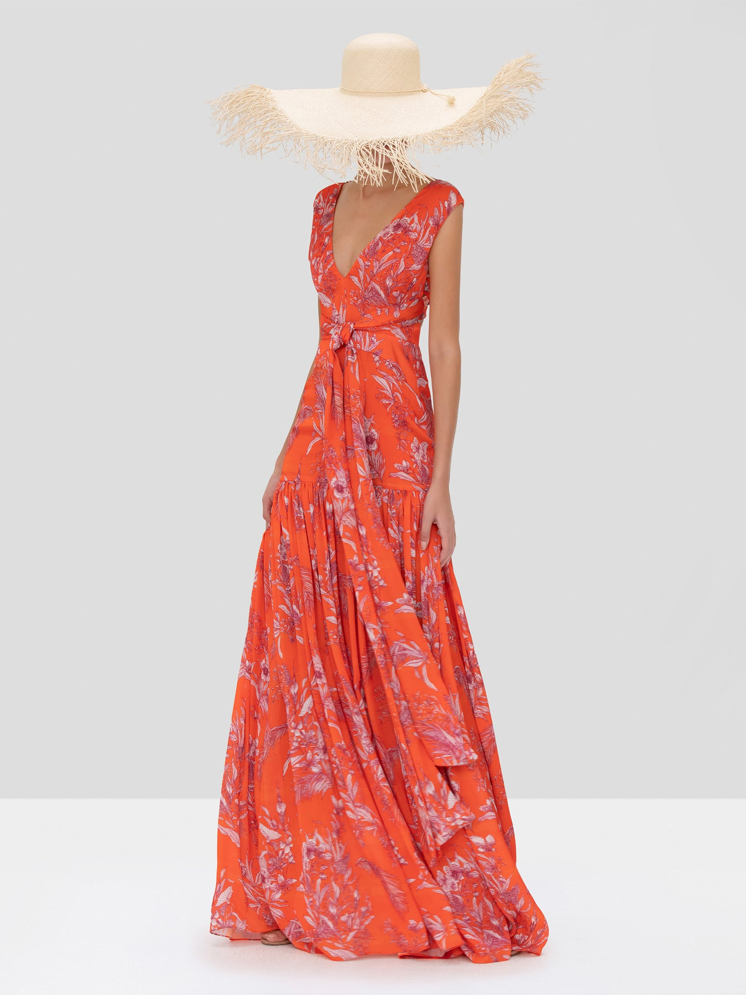 Alexis Belaya Dress in Mandarin Palm from Spring Summer 2020 Collection