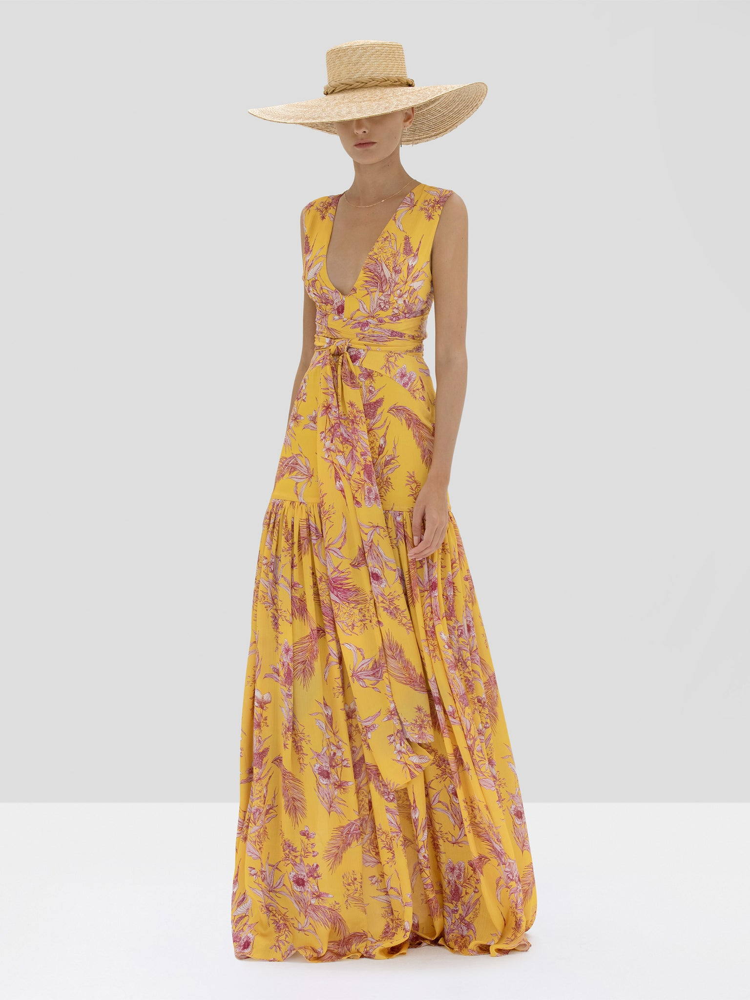 Alexis Belaya Dress in Tuscan Palm from Spring Summer 2020 Collection